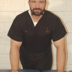Massage therapist and hair stylist David Tritico
