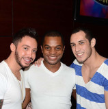 Andrew Christian Fahsion Show At Meteor & South Beach