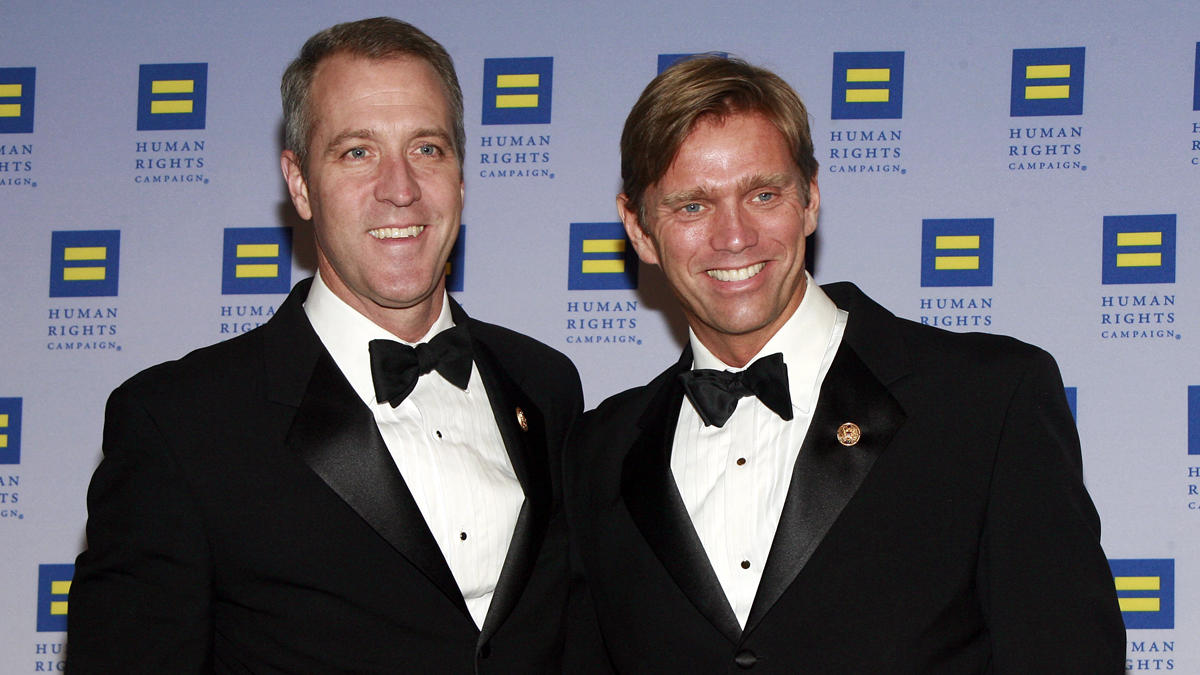 New York's 1st openly gay congressman gets married