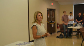 HERO Petition verification event with Wendy Davis, July 26, 2014