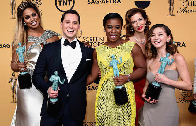 'Birdman' takes big prize, diversity big moment at SAG Awards