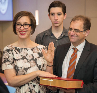 Representative for All In 2014, Eastman was sworn in to her second four-year term as an HISD Board of Education trustee.