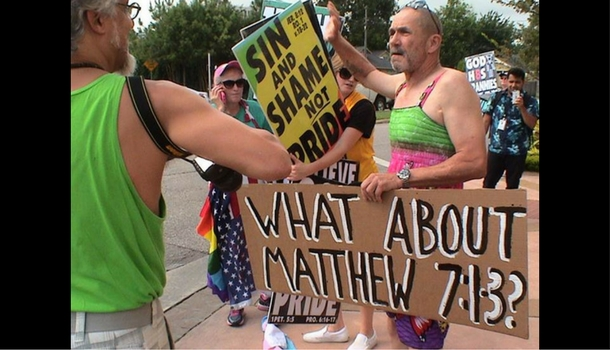 Photo of Westboro Baptist Church Protests The Montrose Center
