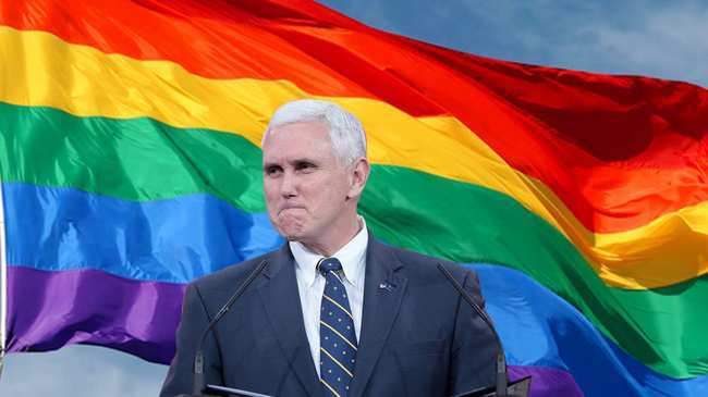 Photo of Here's Your Chance to Drop a Big Gay Money Bomb on Mike Pence