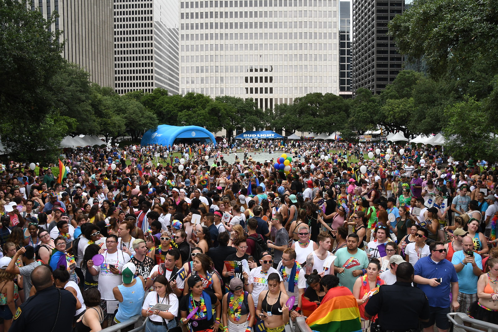 Photo of Scenes from the 2017 Houston Pride Festival and Parade
